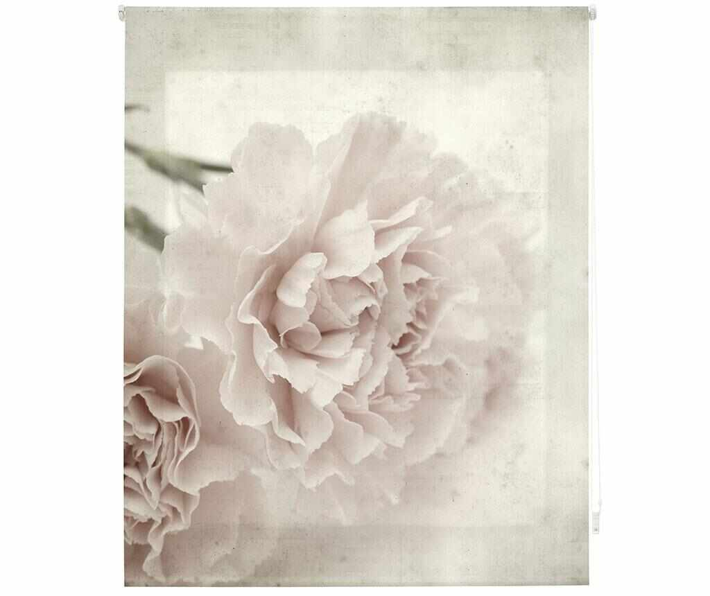 Jaluzea tip rulou Sepia Bloom 120x180 cm - Blindecor, Gri & Argintiu la pret 199.99 lei