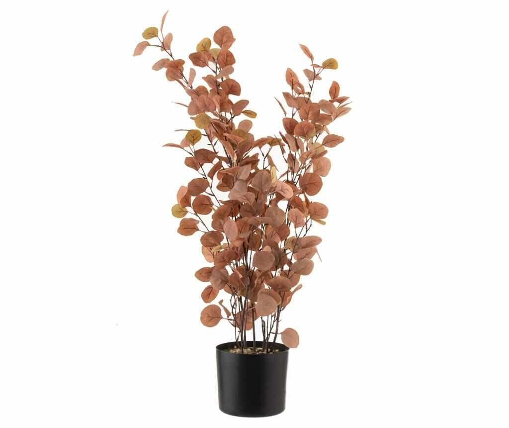 Floare artificiala in ghiveci - J-line, Roz la pret 179.99 lei