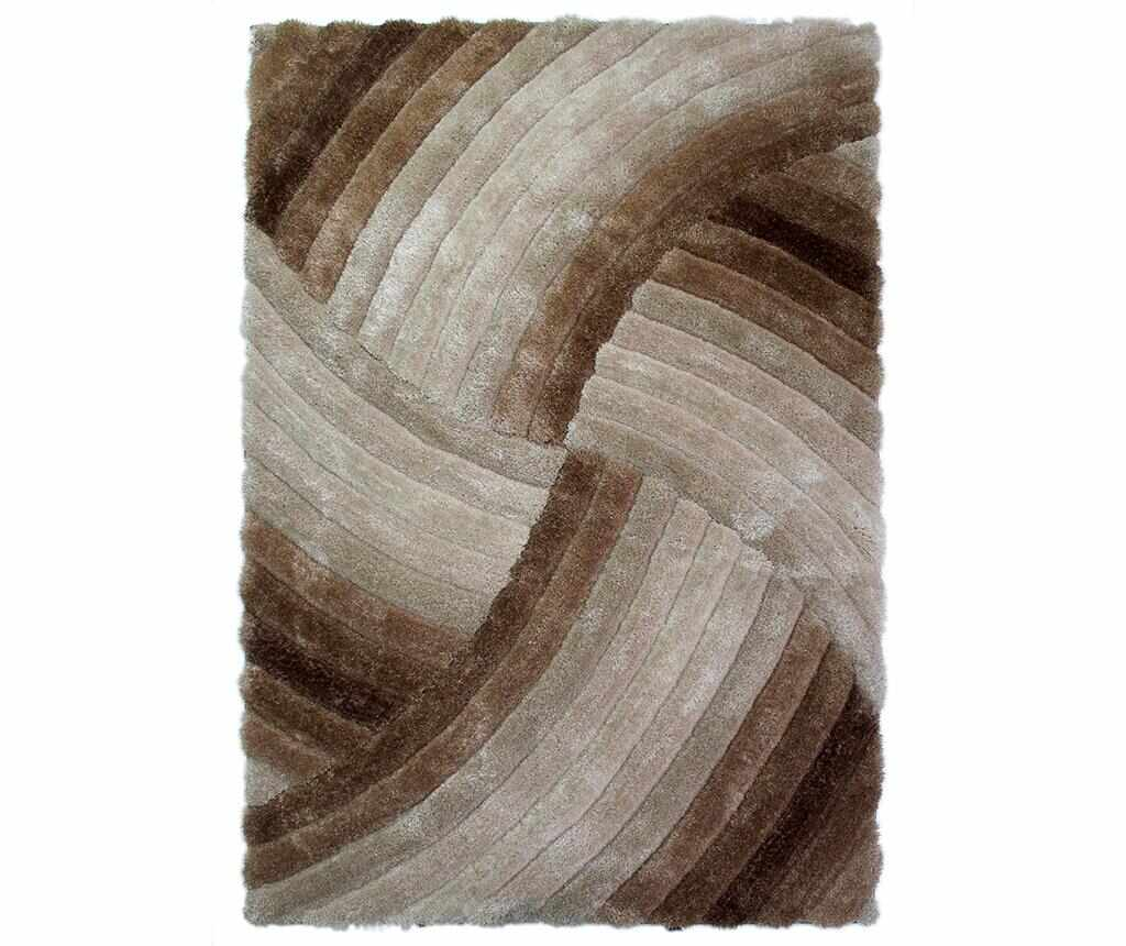 Covor Furrow Natural 120x170 cm - Flair Rugs, Maro la pret 519.99 lei