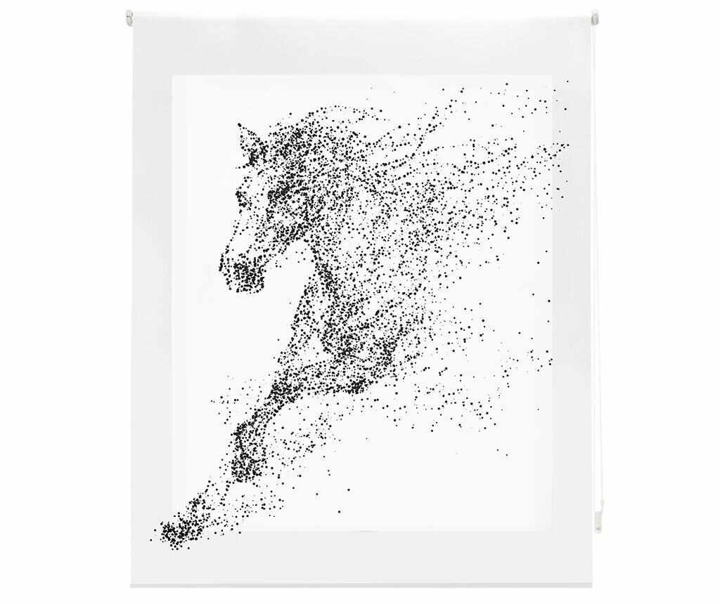 Jaluzea tip rulou Horse 80x180 cm - Blindecor, Alb la pret 159.99 lei