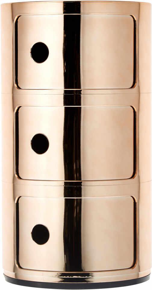 Noptieră Componibile din metal, alamă, 32x59cm la pret 595 lei
