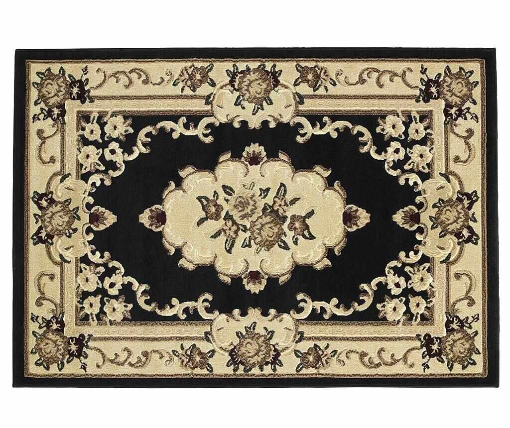 Covor Marrakesh Black 60x220 cm - Think Rugs, Negru