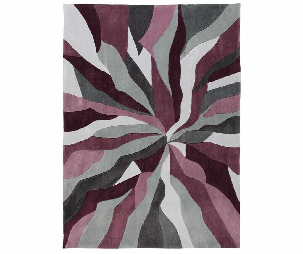 Covor Splinter Purple 80x150 cm - Flair Rugs, Mov