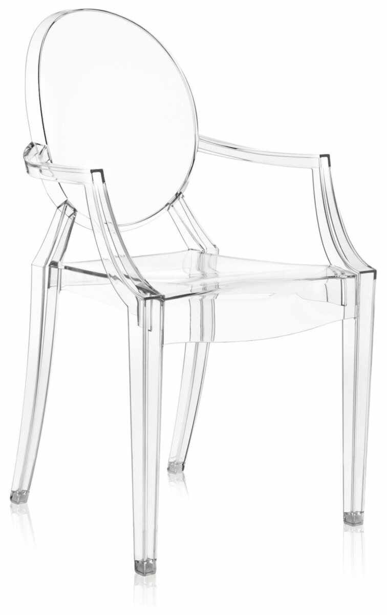 Scaun Kartell Louis Ghost design Philippe Starck transparent
