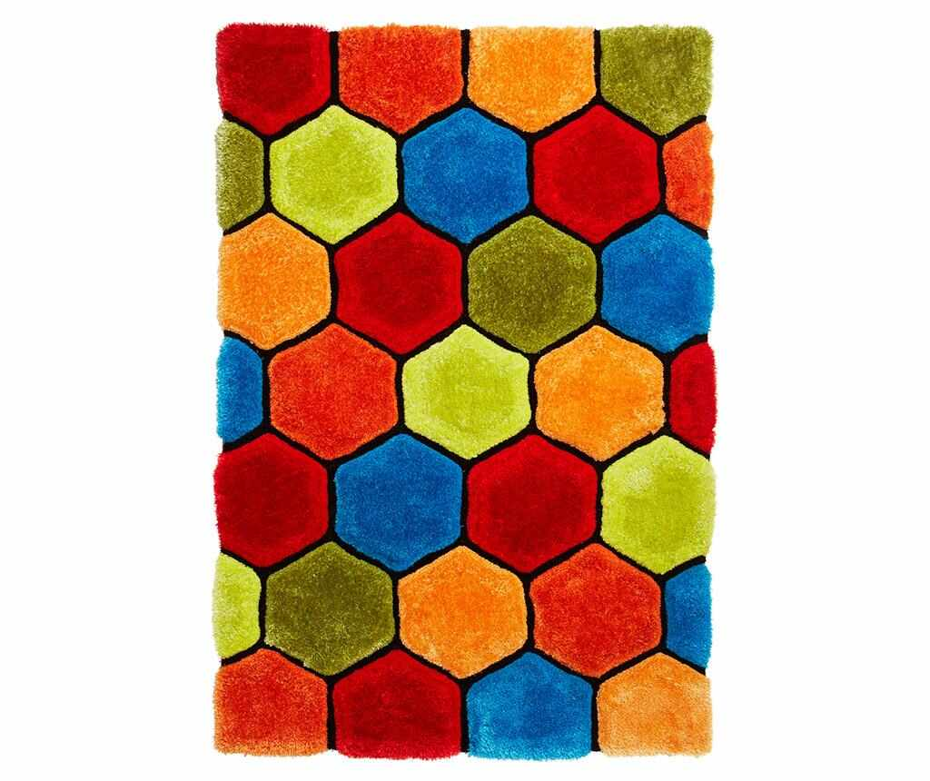 Covor Noble House Comb Multicolor 150x230 cm - Think Rugs, Multicolor
