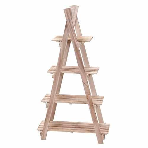 Etajera Ladder din lemn natur 112x27 cm la pret 299 lei