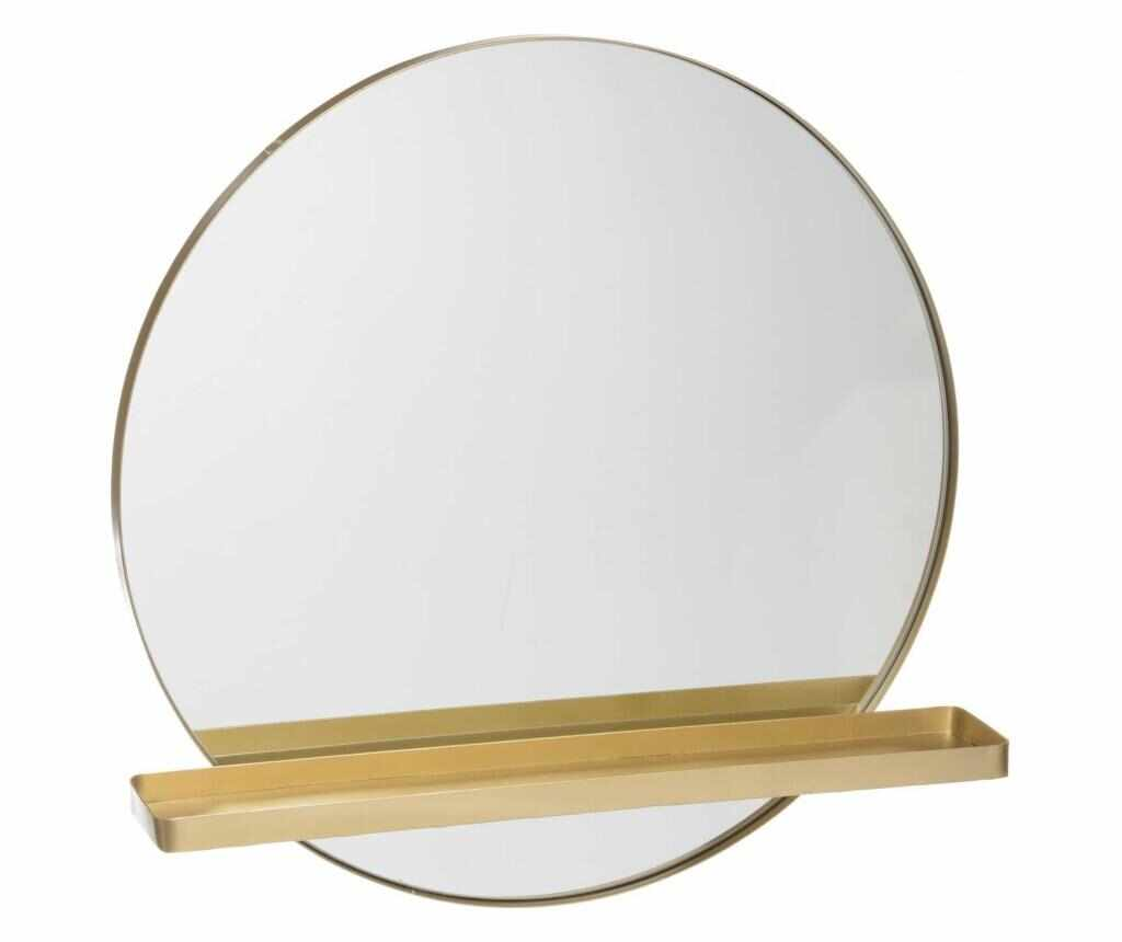 Oglinda cu polita Summer - Ixia, Negru la pret 299.99 lei