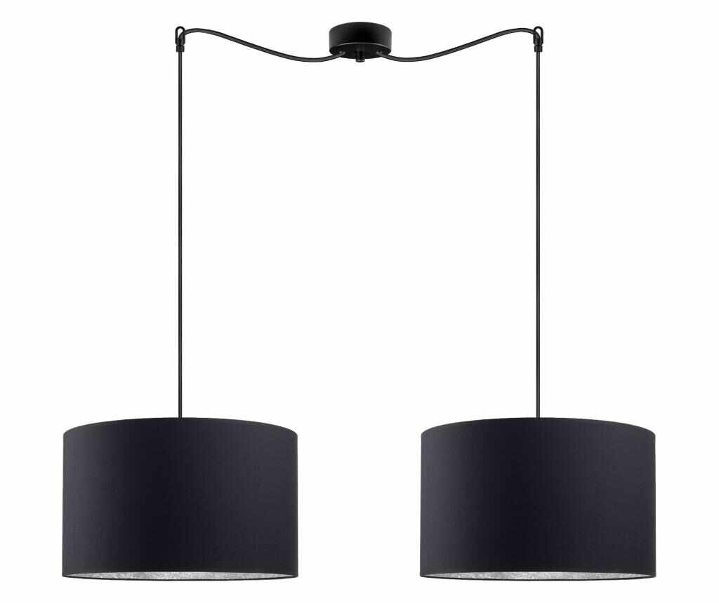 Lustra Mika Duo L - Sotto Luce, Negru