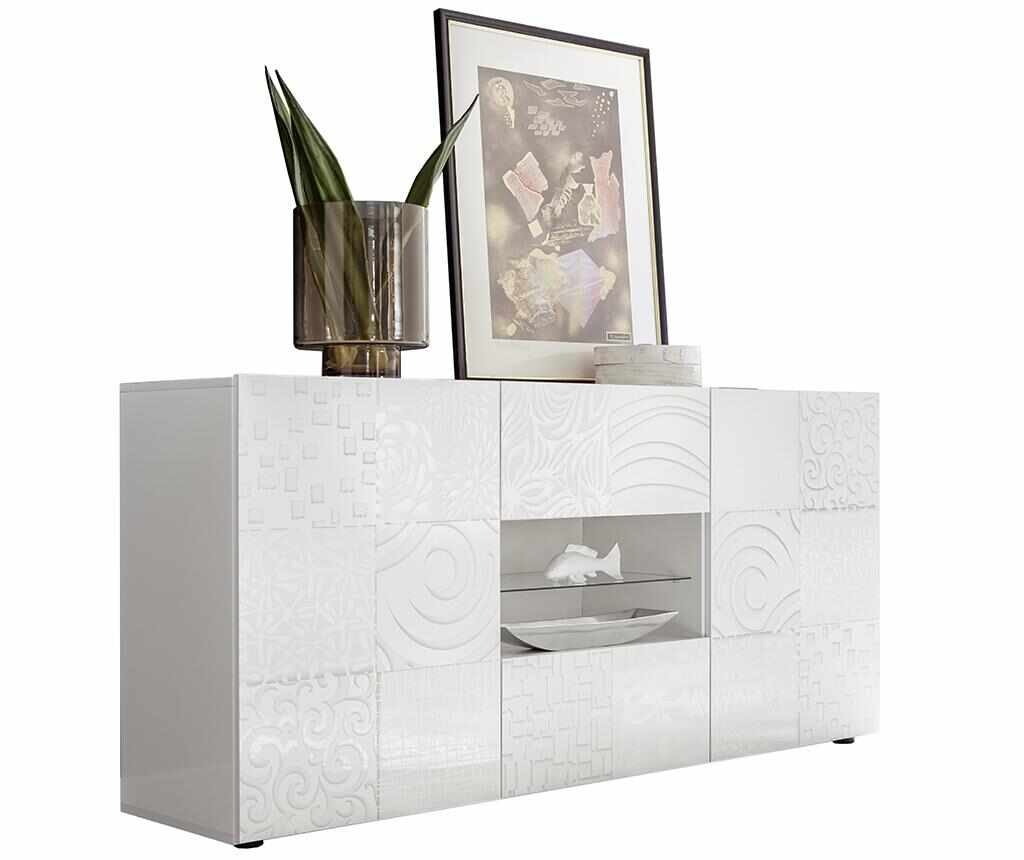 Bufet inferior Blossom One White - TFT Home Furniture, Alb