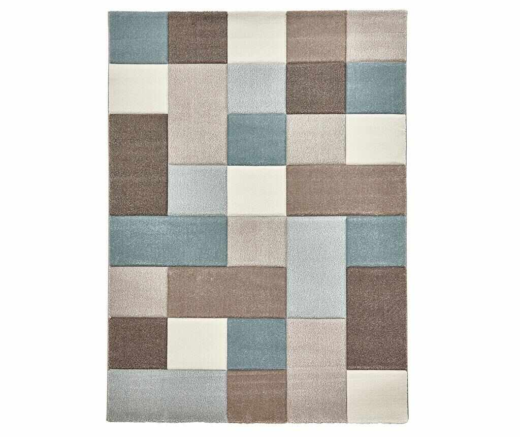 Covor Brooklyn Sky Beige Blue 160x220 cm - Think Rugs, Multicolor