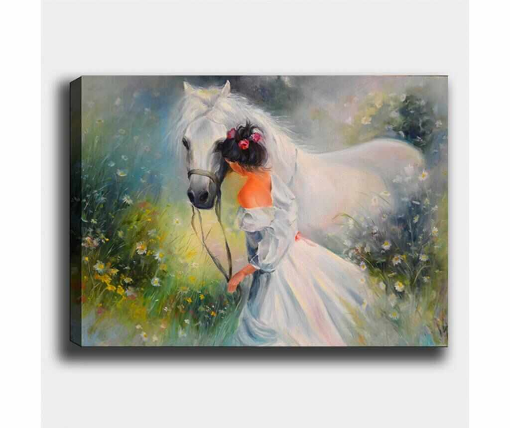 Tablou Horse 70x100 cm - Tablo Center, Multicolor
