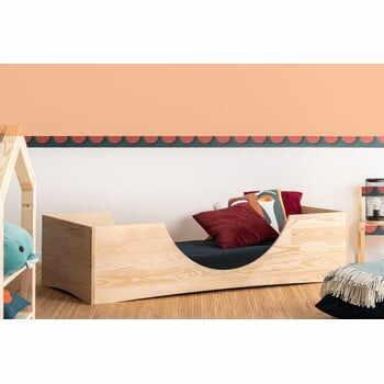 Pat din lemn de pin pentru copii Adeko Pepe Bork,100x170cm la pret 1454 lei