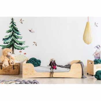 Pat din lemn de pin pentru copii Adeko Pepe Frida,70x160cm la pret 1360 lei
