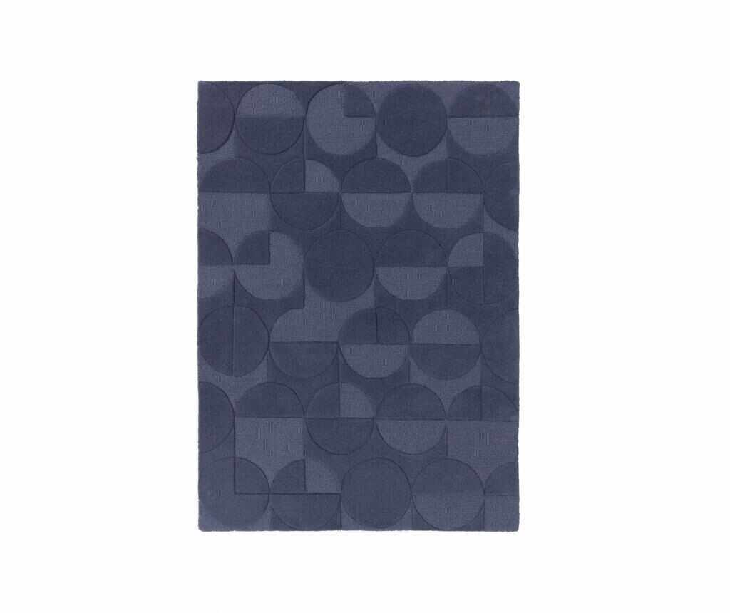 Covor Moderno Gigi Denim Blue 200x290 cm - Flair Rugs, Albastru