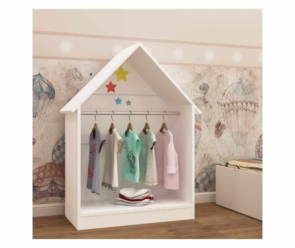 Cuier Plidas Montessori - Gauge Concept, Alb la pret 399.99 lei
