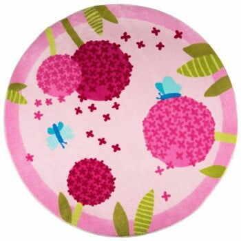 Covor pentru copii Polen Pink, ⌀ 133 cm la pret 203 lei