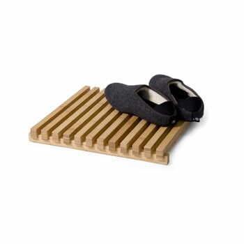 Grătar din lemn pentru baie, Wireworks Arena Bamboo la pret 413 lei