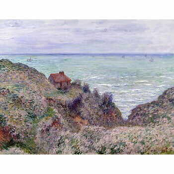 Reproducere tablou Claude Monet - Cabin of the Customs Watch, 50x40 cm la pret 129 lei