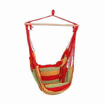 Scaun suspendat pentru grădină ADDU Tobago, roșu la pret 176 lei