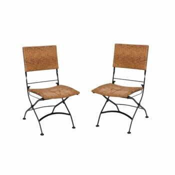 Set 2 scaune pliante de grădină ADDU Graz la pret 956 lei