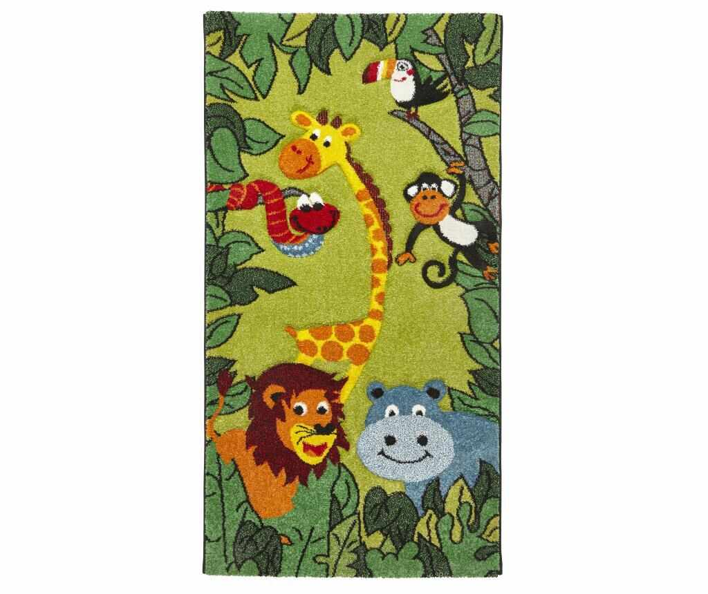 Covor Brooklyn Kids 60x120 cm - Think Rugs, Verde