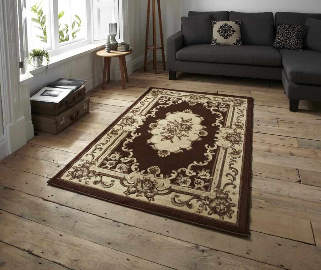 Covor Marrakesh Brown 180x270 cm - Think Rugs, Maro
