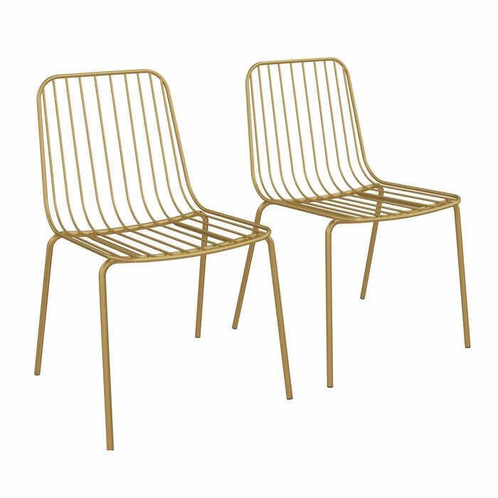 Set de 2 scaune Bourquin, 80,01 x 55,88 x 52,07 cm la pret 295.65 lei