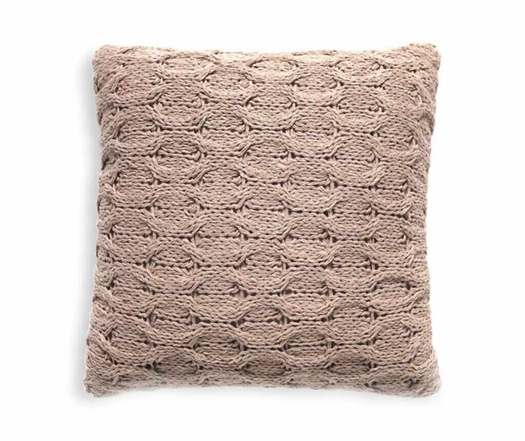 Perna decorativa Braid 45x45 cm - Tomasucci, Crem