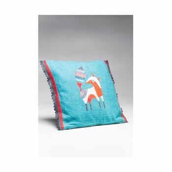 Pernă Kare Design Foxy, 40 x 40 cm, albastru la pret 229 lei