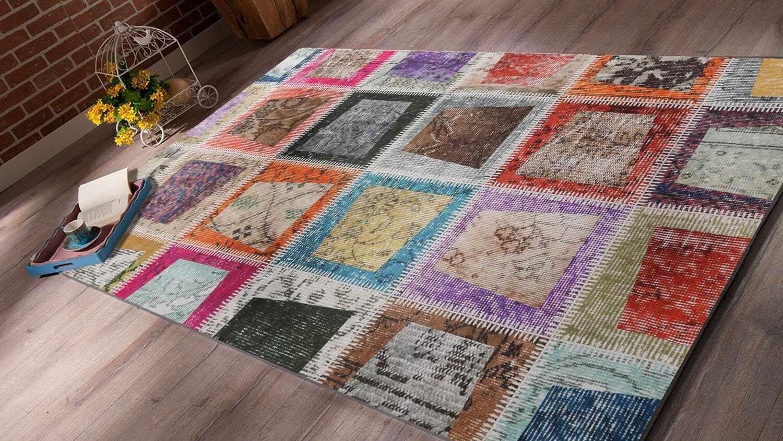 Covor Patch 2021 Multicolor, 80 x 200 cm la pret 197 lei