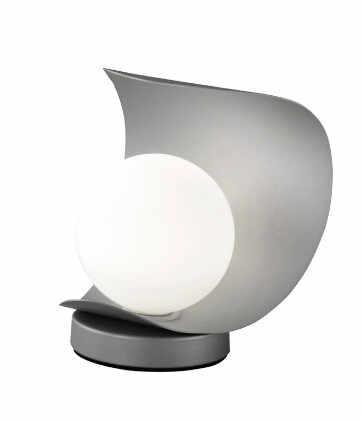 Veioza Adria, LED, metal/sticla, gri, 16 x 18 x 14 cm la pret 225 lei