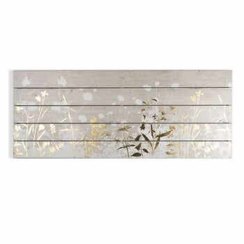 Tablou din lemn Graham & Brown Metallix Wood Meadow, 100 x 40 cm la pret 351 lei
