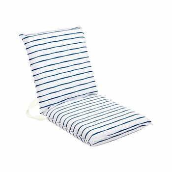 Pernă pentru scaun de grădină Sunnylife Nouveau Bleu, alb-albastru la pret 290 lei