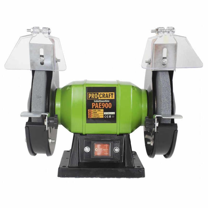 Polizor de banc ProCraft PAE1250, 1250 W, 2950 rpm, disc 200 mm, model 2020 la pret 190 lei