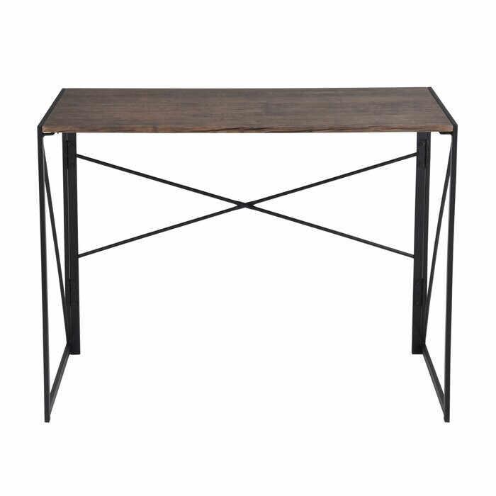 Birou Arleaner, lemn/metal, maro, 75 x 100 x 50 cm la pret 380 lei