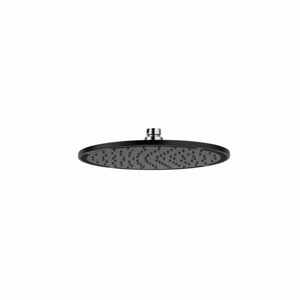 Palarie de dus Kludi A-QA slim diametru 250 mm negru mat la pret 624 lei