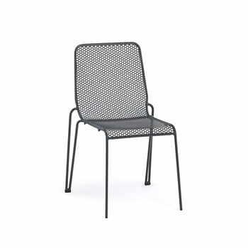 Set 4 scaune stivuibile de grădină Ezeis Ambroise, gri la pret 3258 lei