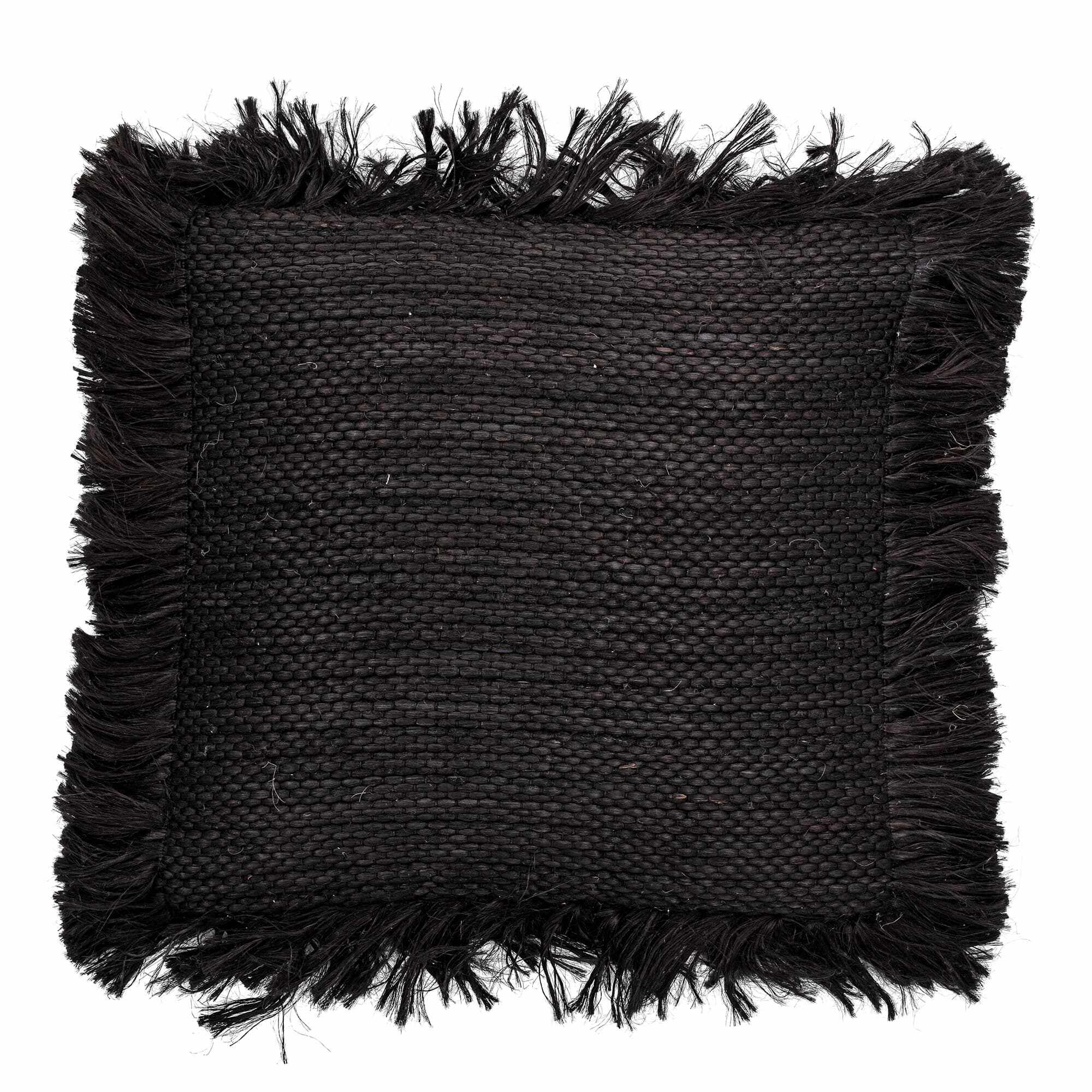 Perna decorativa cu husa detasabila, Gvidas Negru, 50 x 50 cm la pret 237 lei