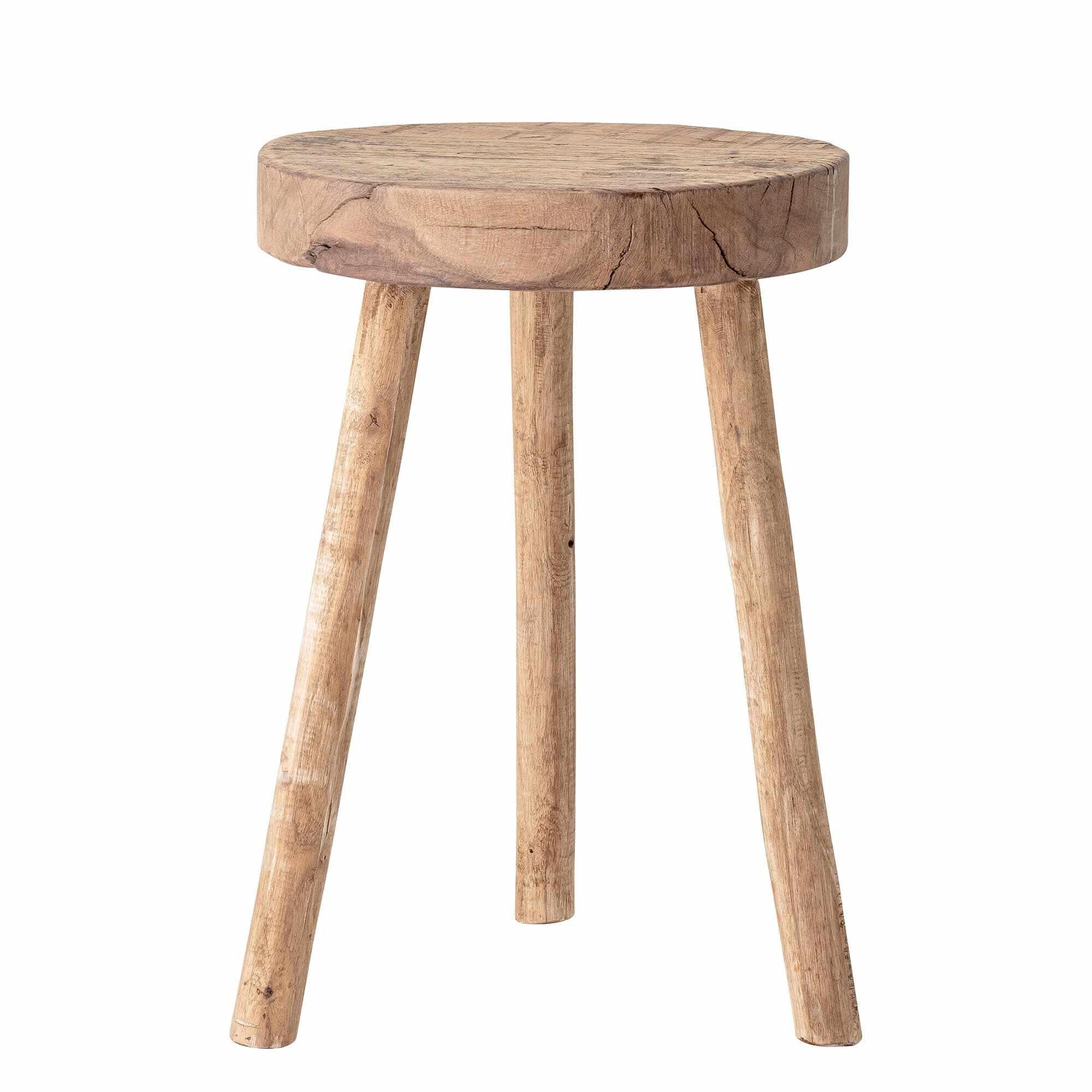 Scaun din lemn Banu Natur, Ø33xH45 cm la pret 568 lei