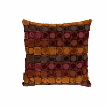 Pernă Dutchbone Ottava, 45 x 45 cm, portocaliu - roşu la pret 168 lei