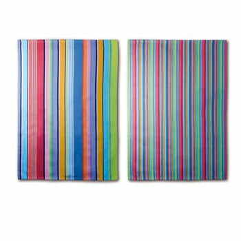 Set 2 prosoape din bumbac Remember Purple Stripes, 70 x 50 cm la pret 86 lei
