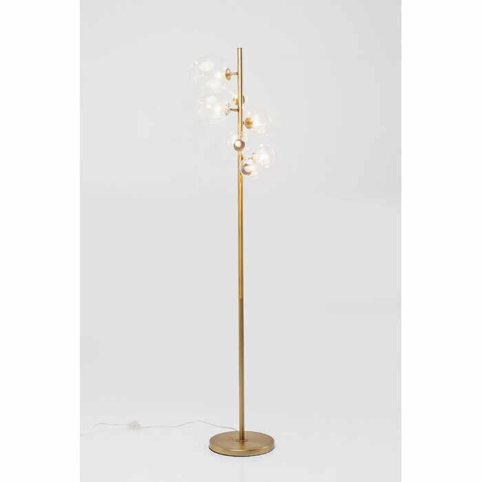 Lampadar Bello Sette, metal, auriu, 162 x 42 x 43 cm, 25w la pret 1280 lei