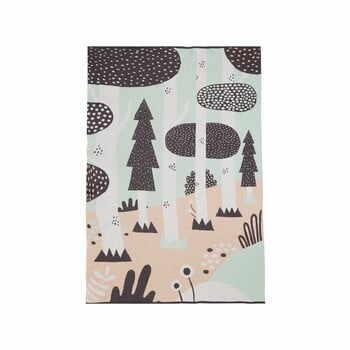 Cuvertură din bumbac pentru copii Södahl Magic Forest,100x150cm la pret 393 lei