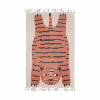 Covor lucrat manual pentru copii Nattiot Dajala,110x170cm la pret 669 lei