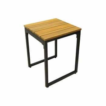 Set 2 scaune de grădină cu șezut din lemn de salcâm Ezeis Brick la pret 934 lei