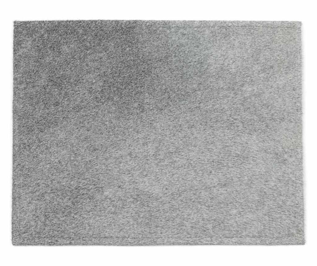 Suport farfurii 45x35 - Arctic Fur, Gri & Argintiu la pret 249.99 lei