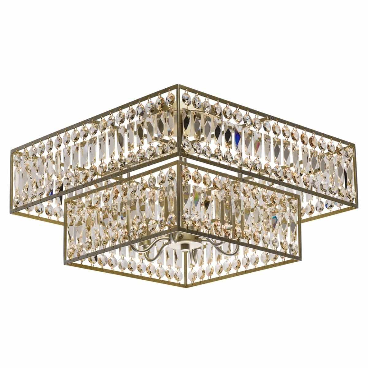 Plafoniera MW-Light Crystal Monarch 121012306 la pret 4697 lei