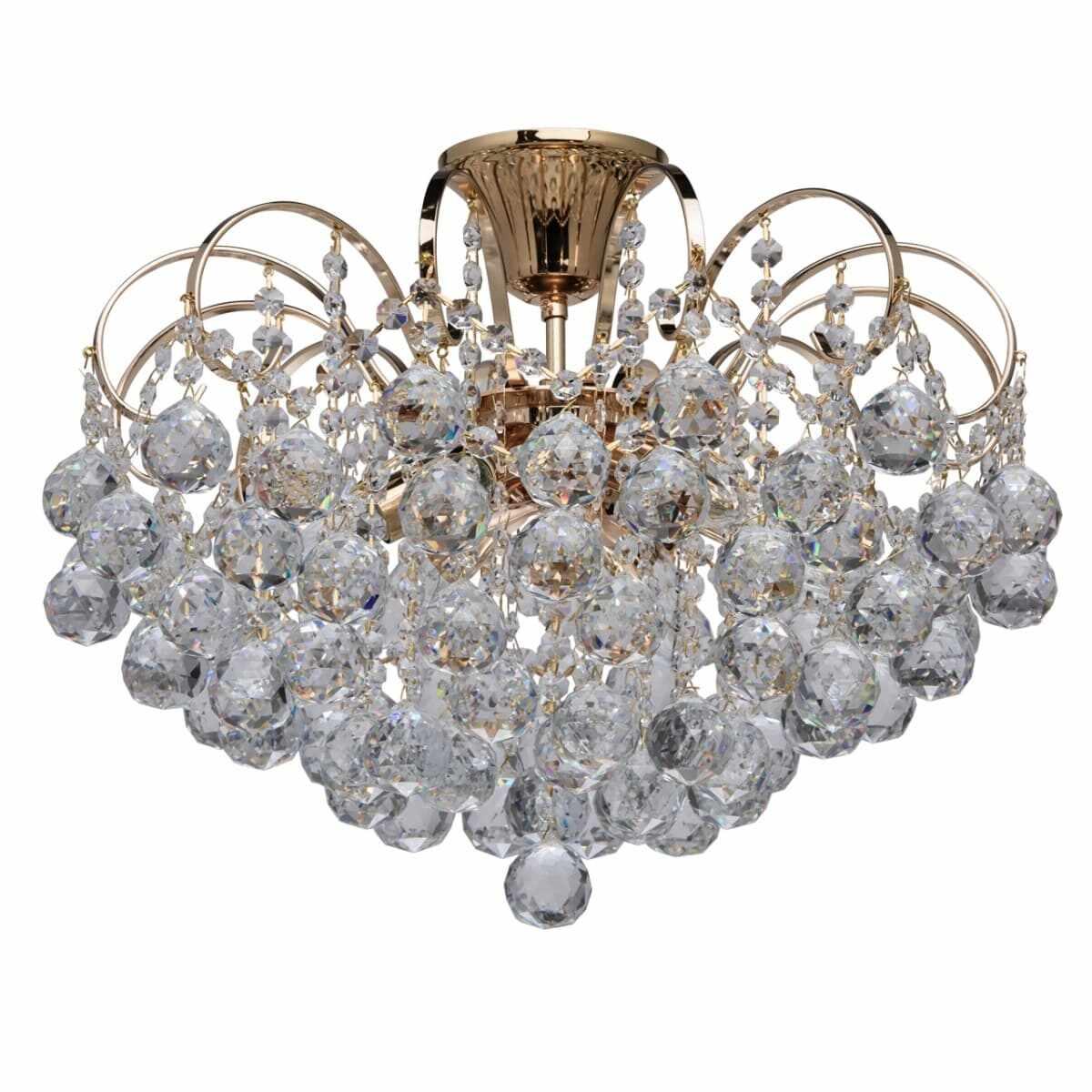 Plafoniera MW-Light Crystal Pearl 232016406 la pret 1281 lei