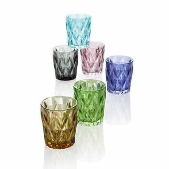 Set 6 pahare Diamante, 250 ml la pret 161 lei