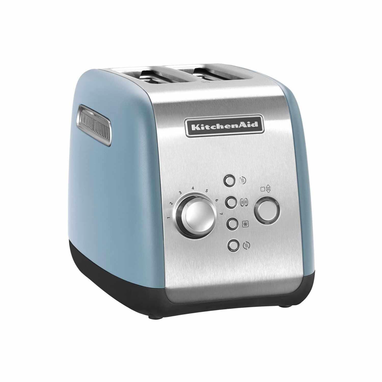 Toaster 2 sloturi, 5KMT221EVB, Blue Velvet, 1100W, KitchenAid  la pret 675 lei